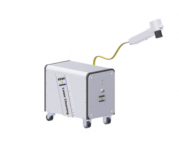 Handheld Laser Cleaning system 1